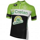 Maillot Cyclisme Manche Courte Equipe Crelan AA Drink 2016 Acheter
