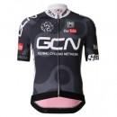 Maillot Cyclisme Manche Courte Equipe GCN Noir et Rouge 2017 Soldes