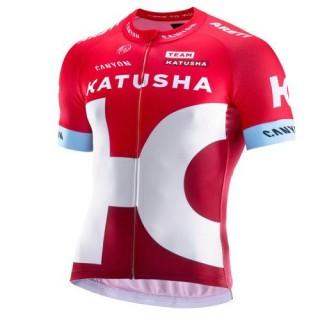 Maillot Cyclisme Manche Courte Equipe Katusha 2017 France Magasin