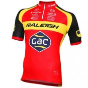 Maillot Cyclisme Manche Courte Equipe Raleigh 2016 Officiel