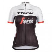 Maillot Cyclisme Manche Courte Equipe Trek Segafredo RSL TDF Edition Femme 2017 Vendre à des Prix Bas