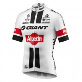 Maillot Cyclisme Manche Courte Giant Alpecin TDF Edition Blanc 2017 Vendre