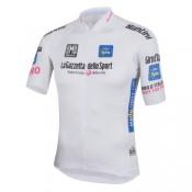 Maillot Cyclisme Manche Courte Giro D Italie Maglia Bianca Blanc 2017 Vente En Ligne