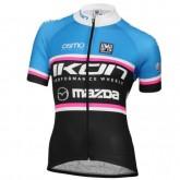 Maillot Cyclisme Manche Courte Ikon Mazda Femme 2016 Vendre France