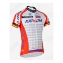 Maillot Cyclisme Manche Courte Katusha Pas Chere