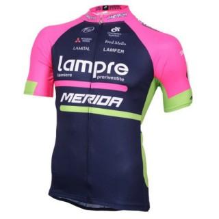 Maillot Cyclisme Manche Courte Lampre Merida 2017 Site Officiel France