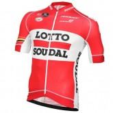Maillot Cyclisme Manche Courte Lotto Soudal 2016 En Ligne