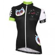 Maillot Cyclisme Manche Courte Nalini Cat Colourful Femme 2016 Achat à Prix Bas
