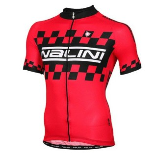Maillot Cyclisme Manche Courte Nalini Rouge Racing-Flag 2016 Magasin De Sortie