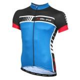 Maillot Cyclisme Manche Courte Nalini Tescio Bleu 2016 Faire une remise