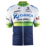 Maillot Cyclisme Manche Courte Orica GreenEdge 2017 Pas Chère