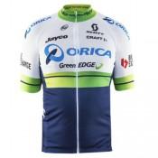 Maillot Cyclisme Manche Courte Orica GreenEdge 2017 Prix En Gros