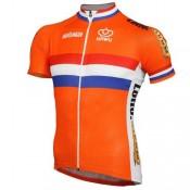 Maillot Cyclisme Manche Courte Pays-Bas Equipe 2017 Promos Code