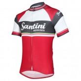 Maillot Cyclisme Manche Courte Santini Exclusive Foscagno 2017 Rabais Paris