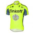 Maillot Cyclisme Manche Courte Tinkoff Equipe TDF Edition 2017 Vendre Paris
