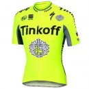 Maillot Cyclisme Manche Courte Tinkoff Race Equipe 2017 Prix France