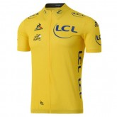Maillot Cyclisme Manche Courte Tour De France General Classification Jaune 2017 Vente En Ligne