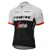 Maillot Cyclisme Manche Courte Trek Segafredo 2017 Vendre France