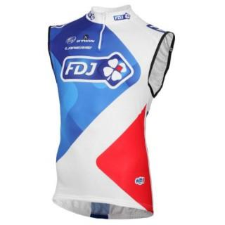 Maillot Sans Manches FDJ Equipe 2016 Commerce De Gros