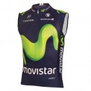 Maillot Sans Manches Movistar Equipe 2017 Prix France