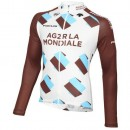 Maillot de Cyclisme Manche Longue 2016 Equipe Ag2r Vendre France