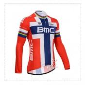Maillot de Cyclisme Manche Longue BMC Vendre Alsace