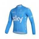 Maillot de Cyclisme Manche Longue Bleu SKY Original