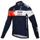 Maillot de Cyclisme Manche Longue Equipe IAM 2016 Promos