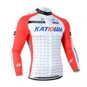 Maillot de Cyclisme Manche Longue Katusha Pas Cher Prix