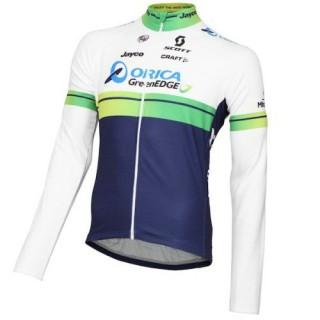 Maillot de Cyclisme Manche Longue Orica GreenEdge 2016 Faire une remise