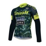 Maillot de Cyclisme Manche Longue TINKOFF SAXO BANK 2 Pas Cher Marseille
