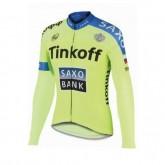 Maillot de Cyclisme Manche Longue TINKOFF SAXO BANK 3 Soldes France
