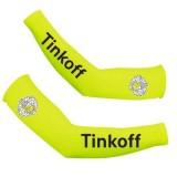 Manchettes Cyclisme Tinkoff Jaune Boutique