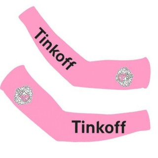 Manchettes Cyclisme Tinkoff Rose En Soldes