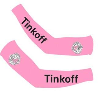 Manchettes Cyclisme Tinkoff Rose En Soldes