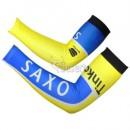 Manchettes Cyclisme Tinkoff Saxo Bank Jaune Bleu 2 France Pas Cher