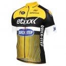 Mode Maillot Cyclisme Manche Courte Etixx-Quick Step TDF Edition Jaune 2017