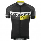 Noir Maillot Cyclisme Manche Courte Scott RC Pro Tec honeycomb 2016 Site Officiel France