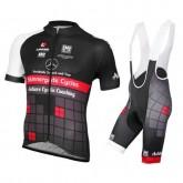 Nouveau Equipement 2016 Tenue Maillot Cyclisme Courte + Cuissard à Bretelles Equipe Achieve Benz Noir