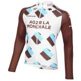 Nouveau Maillot de Cyclisme Manche Longue Equipe Ag2r 2016