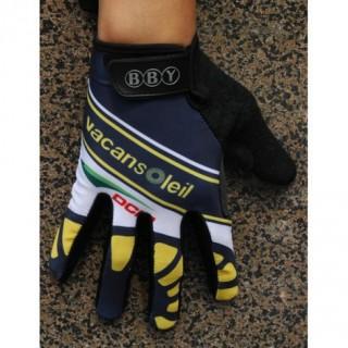 Nouvelle 2014 Vacansoleil Team Thermal Gant Cyclisme