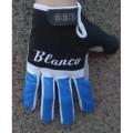 Nouvelle Collection 2014 Noir et Bleu Blanco Thermal Gant Cyclisme