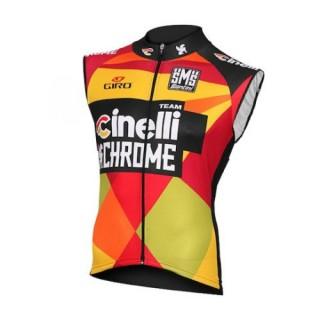 Nouvelle Collection 2016 Equipe Cinelli Chrome Maillot Sans Manches