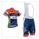 Nouvelle Collection Tenue Maillot Cyclisme Courte + Cuissard à Bretelles Fantini