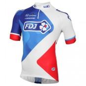 Nouvelle Maillot Cyclisme Manche Courte FDJ Equipe 2016