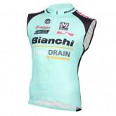 Officielle 2016 Bianchi Active-TX Vert clair Maillot Sans Manches
