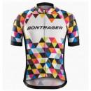 Officielle Maillot Cyclisme Manche Courte Bontrager Specter coloré 2017