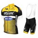 Paris Equipement 2017 Etixx-Quick Step TDF Edition Jaune Tenue Maillot Cyclisme Courte + Cuissard à Bretelles