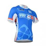 Paris Maillot Cyclisme Manche Courte FDJ.FR 5