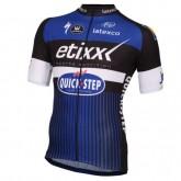 Prix Maillot Cyclisme Manche Courte Etixx-Quick Step Bleu 2017